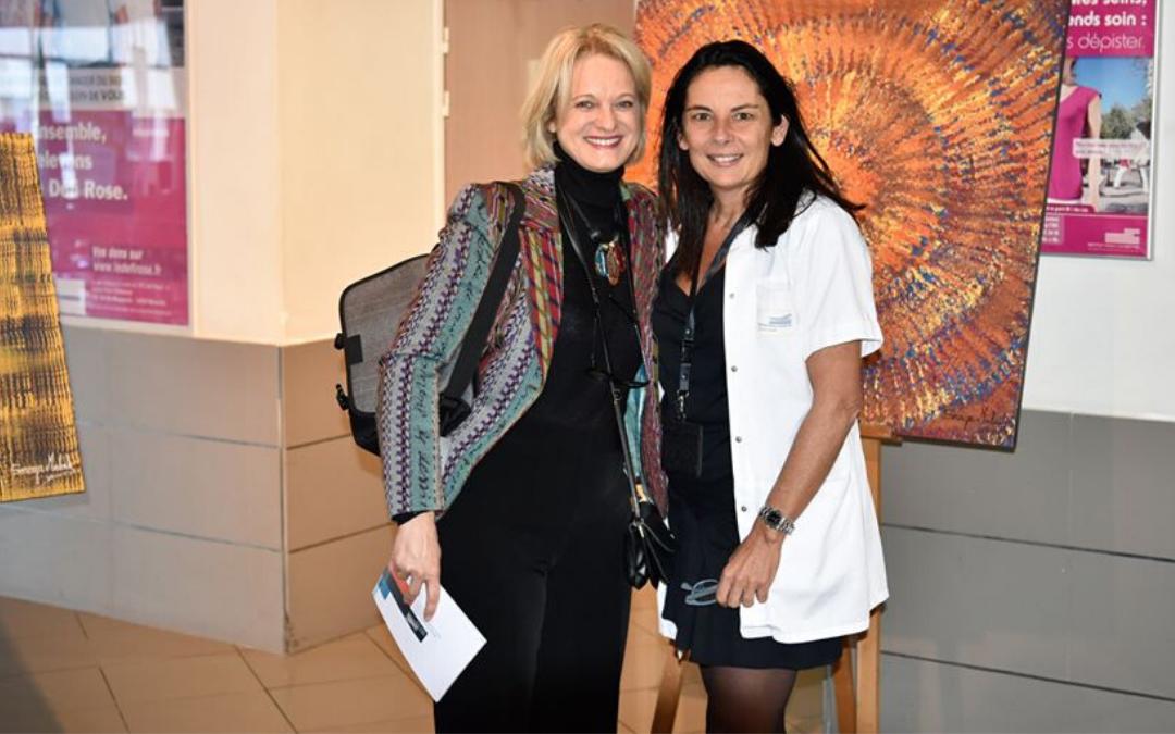 Art – thérapie : Soraya Mellouk fait don de 4 œuvres à l'IPC