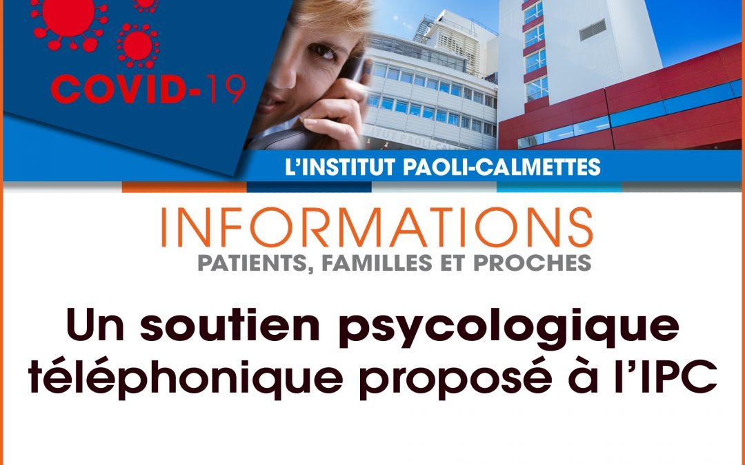 COVID-19 : le département de Psychologie clinique de l'IPC est à votre écoute.