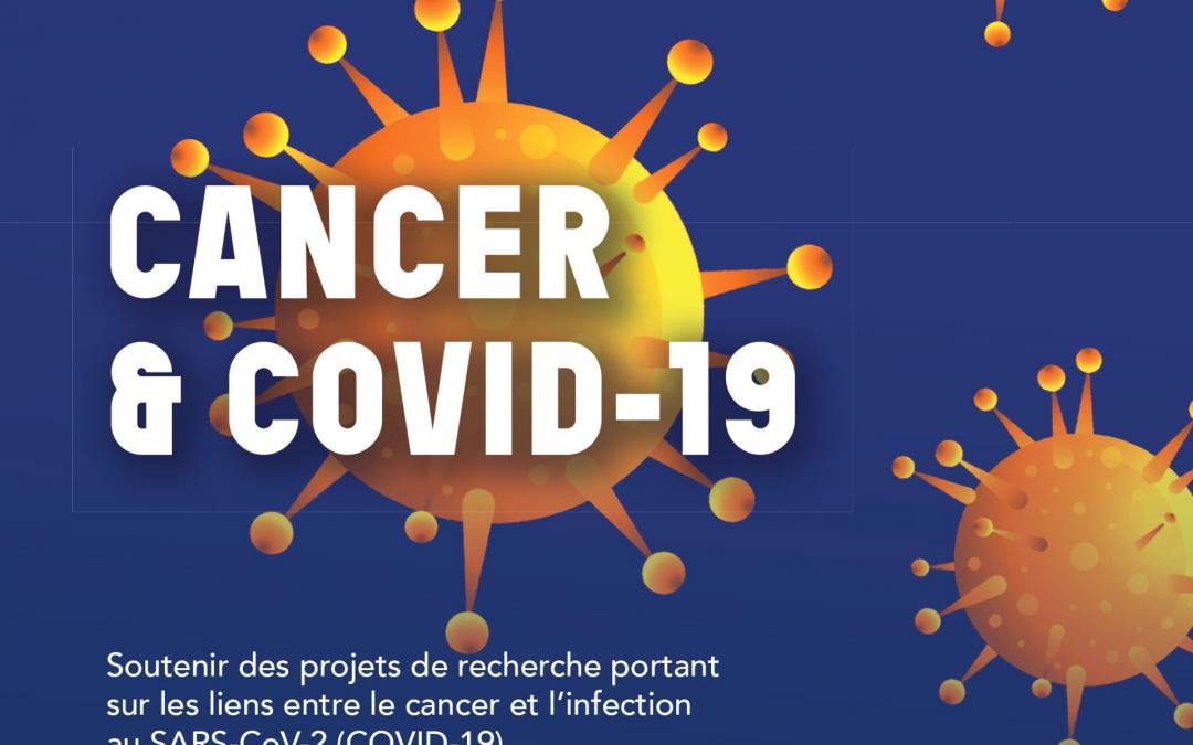 CANCER & COVID-19 : un projet de recherche IPC – Inserm distingué par l'ARC pour son potentiel à fort impact !