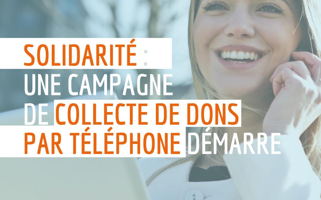 Une grande campagne de collecte de dons par téléphone va être lancée à l'IPC !