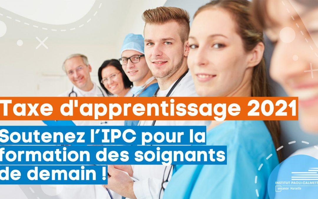 Taxe d'apprentissage 2021, soutenez l'IPC pour la formation des soignants de demain