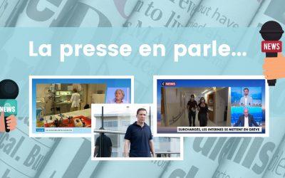 La presse en parle…  (Pr Turrini, Pr Bertucci, Dr Meillat)