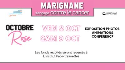 La ville de Marignane s'engage contre le cancer